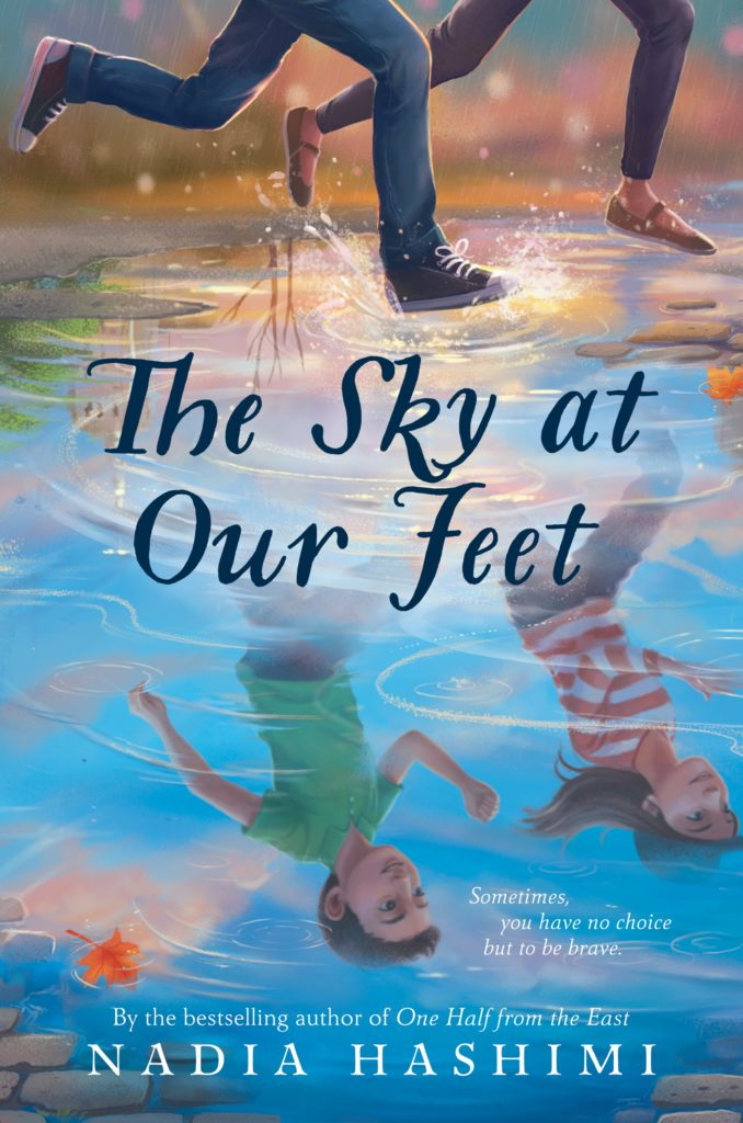 the sky at our feet book cover