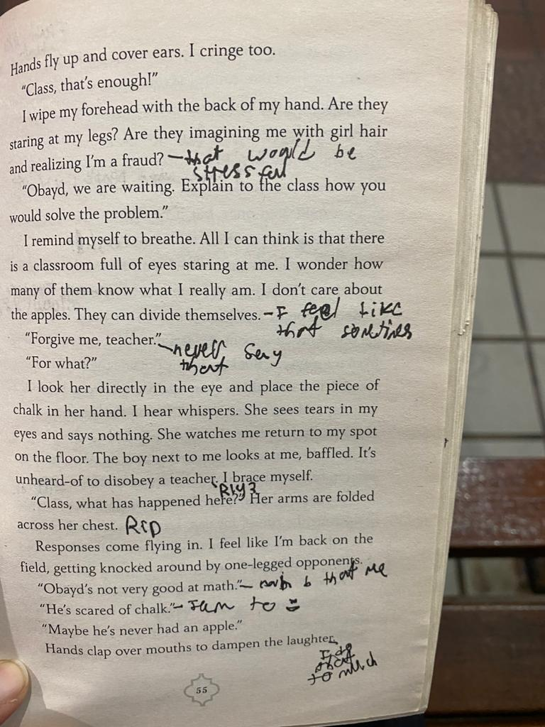 Margin Notes from a Young Reader